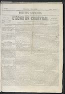 L'echo De Courtrai 1855-03-04