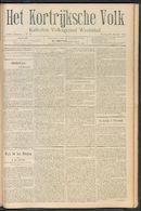 Het Kortrijksche Volk 1910-10-30