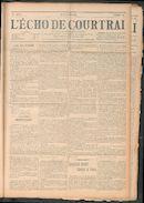 L'echo De Courtrai 1911-05-25