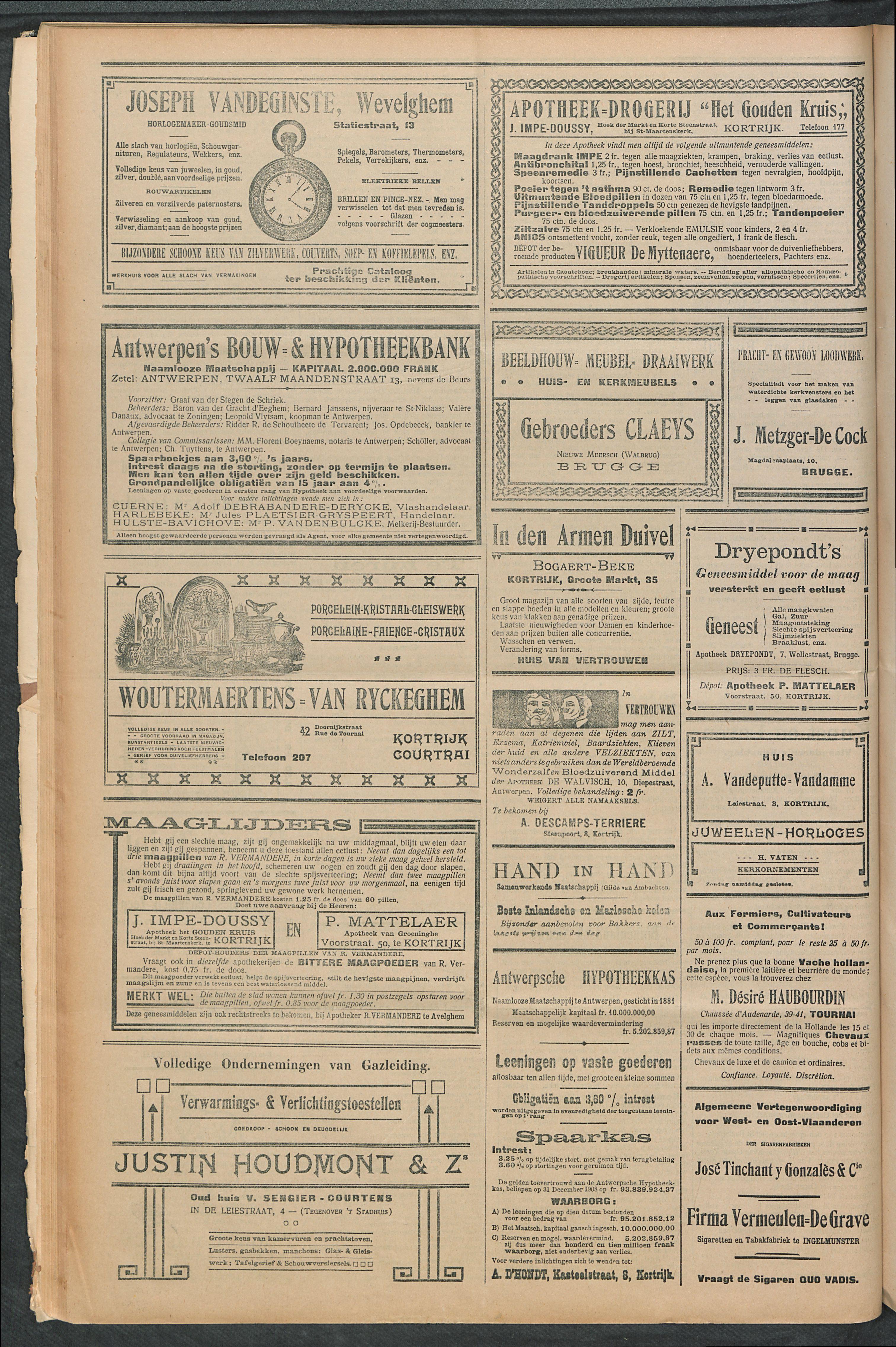 Het Kortrijksche Volk 1911-06-18 p4