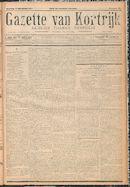 Gazette van Kortrijk 1917-10-17