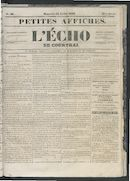 L'echo De Courtrai 1853-07-31