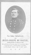 Jules-Joseph De Maitre