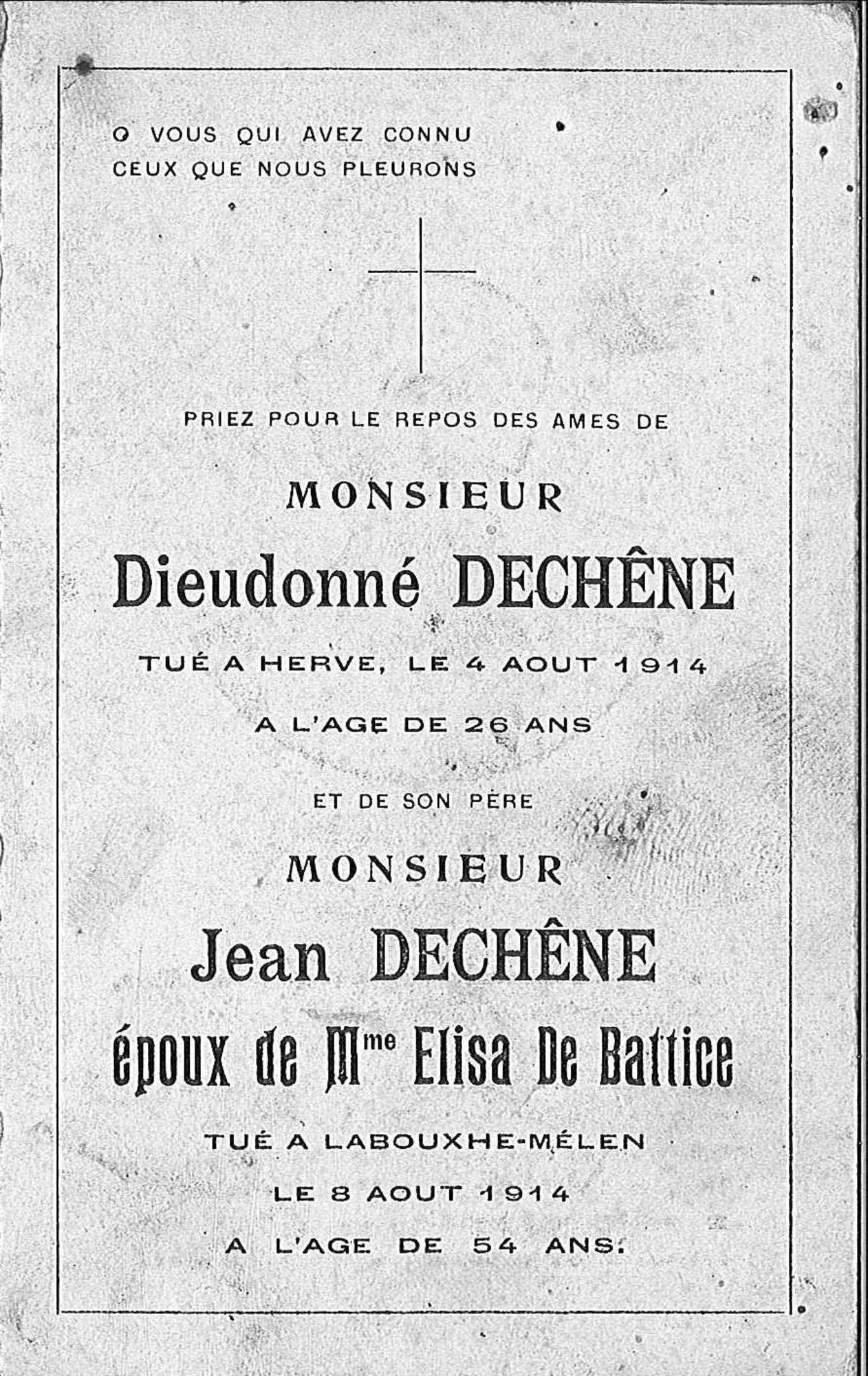 Dieudonné Dechêne