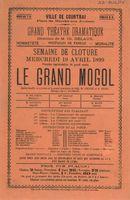 Paasfoor 1899: Grand Théatre Dramatique Delaux
