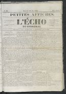 L'echo De Courtrai 1852-05-19