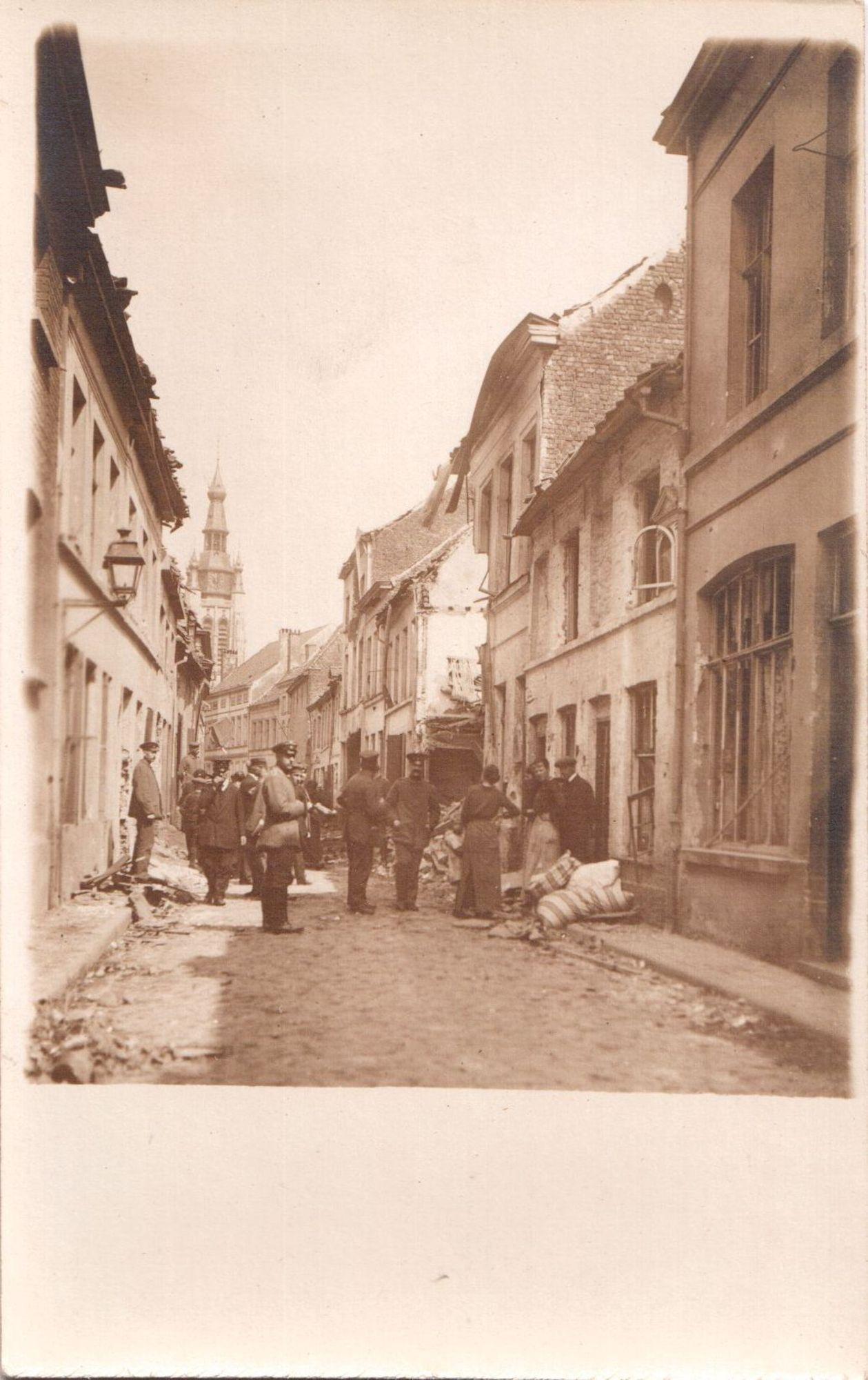 Tuinstraat in 1917
