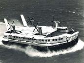 Hovercraft Calais - Ramsgate 1975