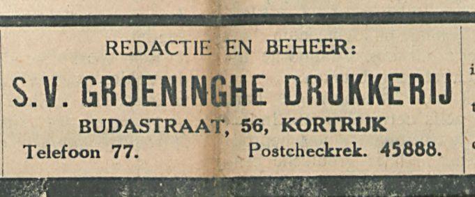 GROENINGEHE DRUKKERIJ