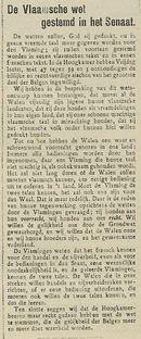 De Vlaamsche wet