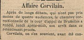 Affaire Corvilain