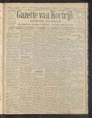 Gazette Van Kortrijk 1907-06-16 p1