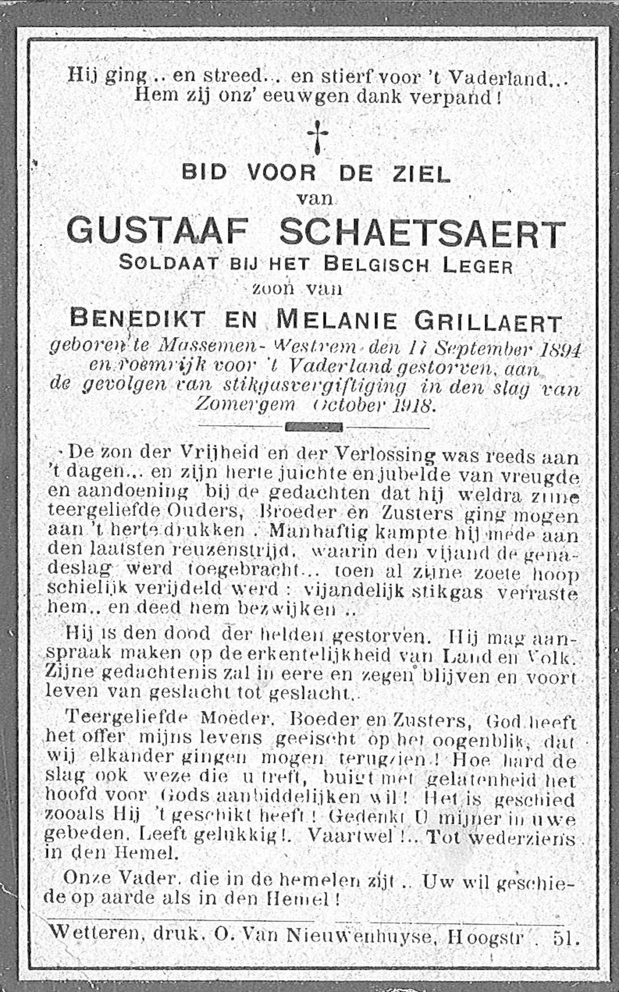 Gustaaf Schetsaert
