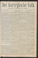 Het Kortrijksche Volk 1911-04-09