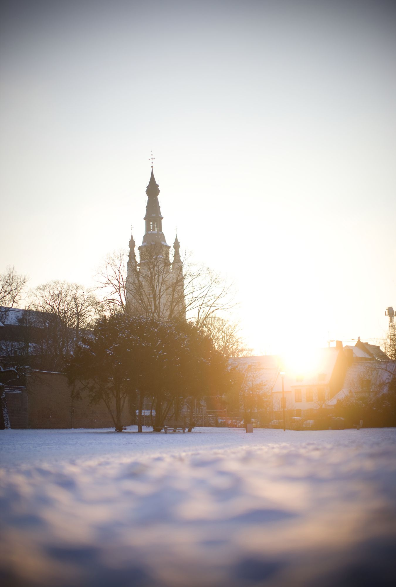 winter in Kortrijk