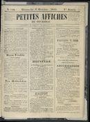 Petites Affiches De Courtrai 1841-10-03
