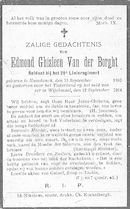 Edmond Ghisleen Van der Borght