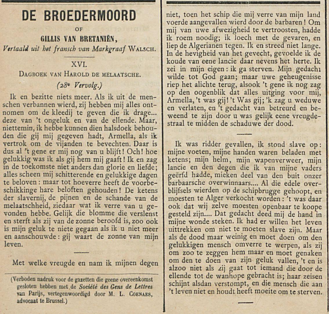 DE BROEDERMOORD
