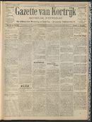 Gazette Van Kortrijk 1909-03-21