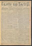 Gazette Van Kortrijk 1917-01-06