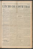 L'echo De Courtrai 1914-07-16