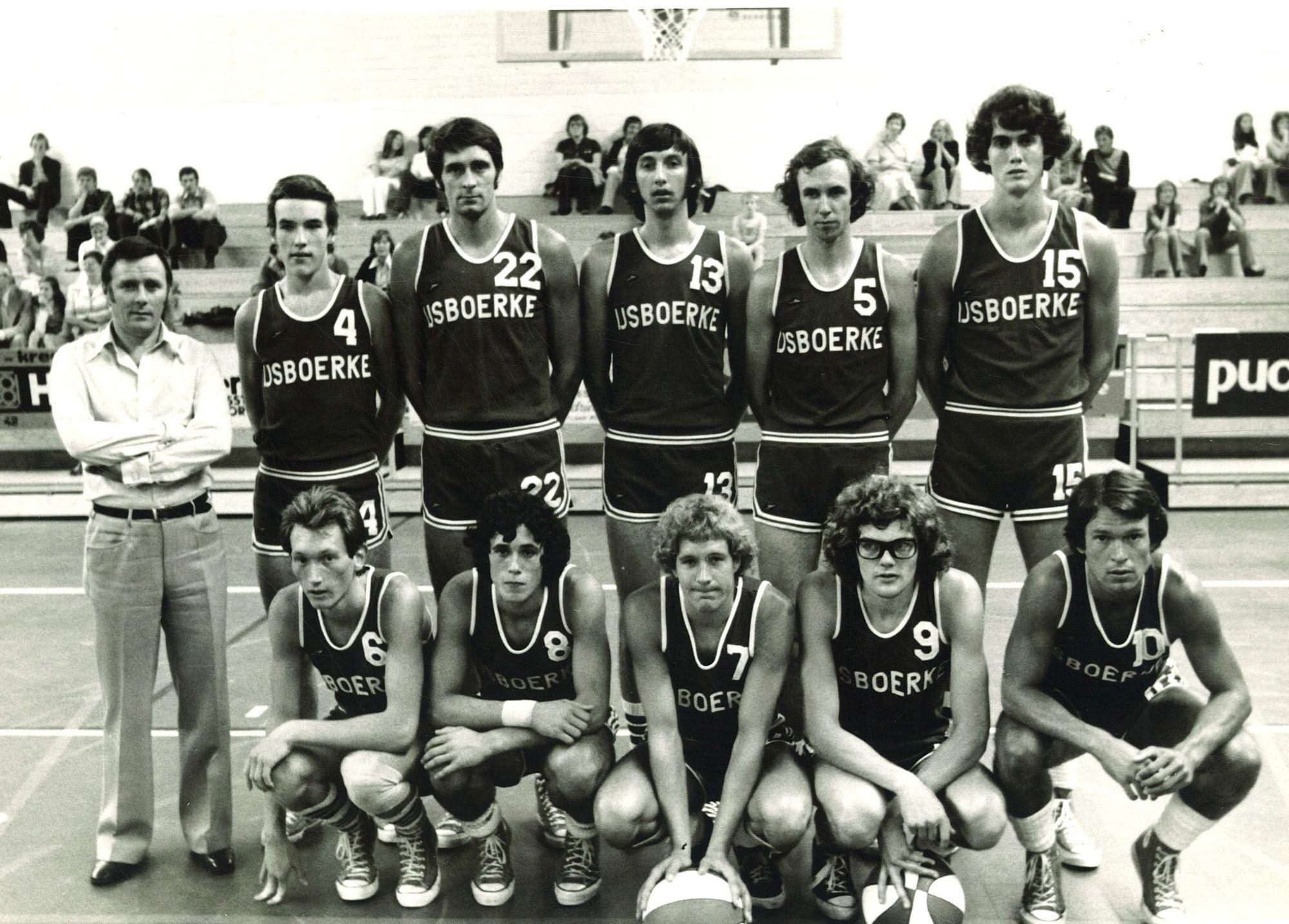 Basketbalploeg IJsboerke