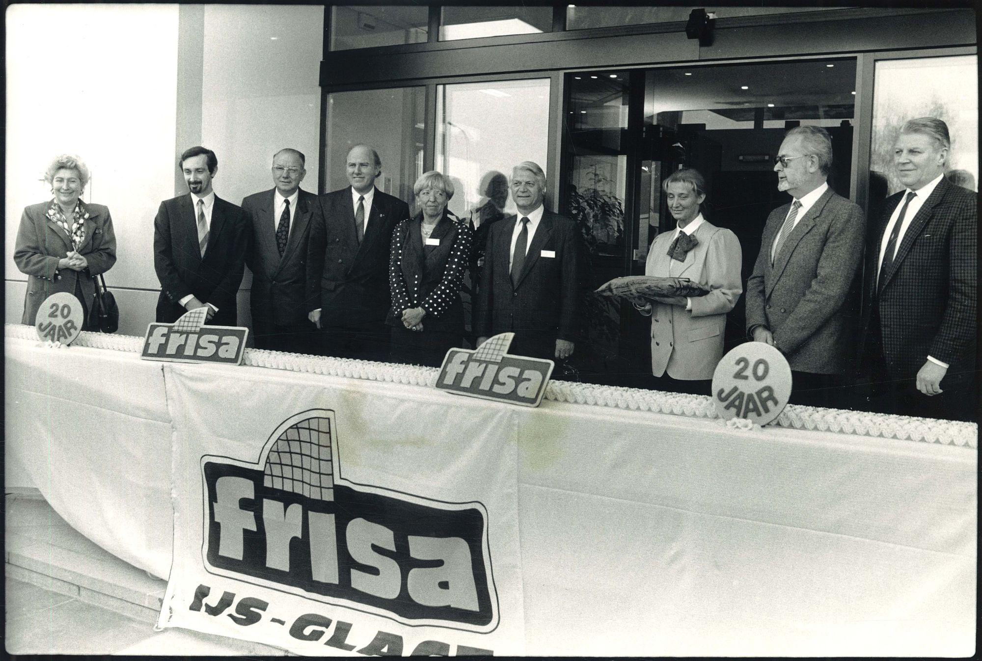 FRISA is 20 jaar 1990