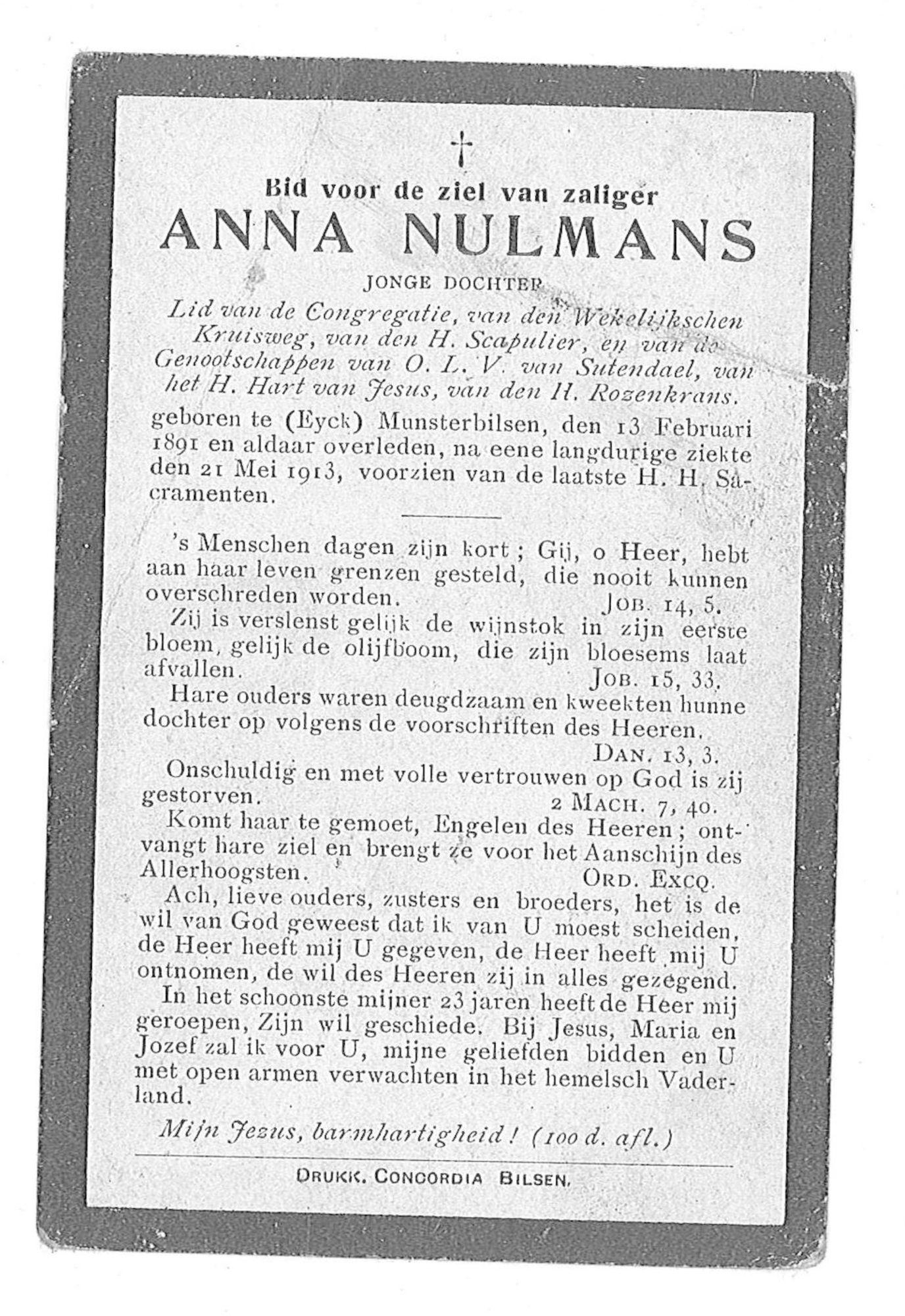 Anna Nulmans