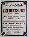 Gebedsdienst Sint-Jozefskerk