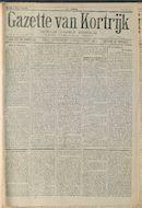 Gazette Van Kortrijk 1916-09-09