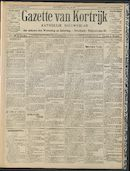 Gazette Van Kortrijk 1909-04-08