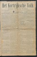 Het Kortrijksche Volk 1914-03-15