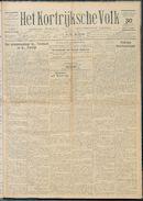 Het Kortrijksche Volk 1927-01-30