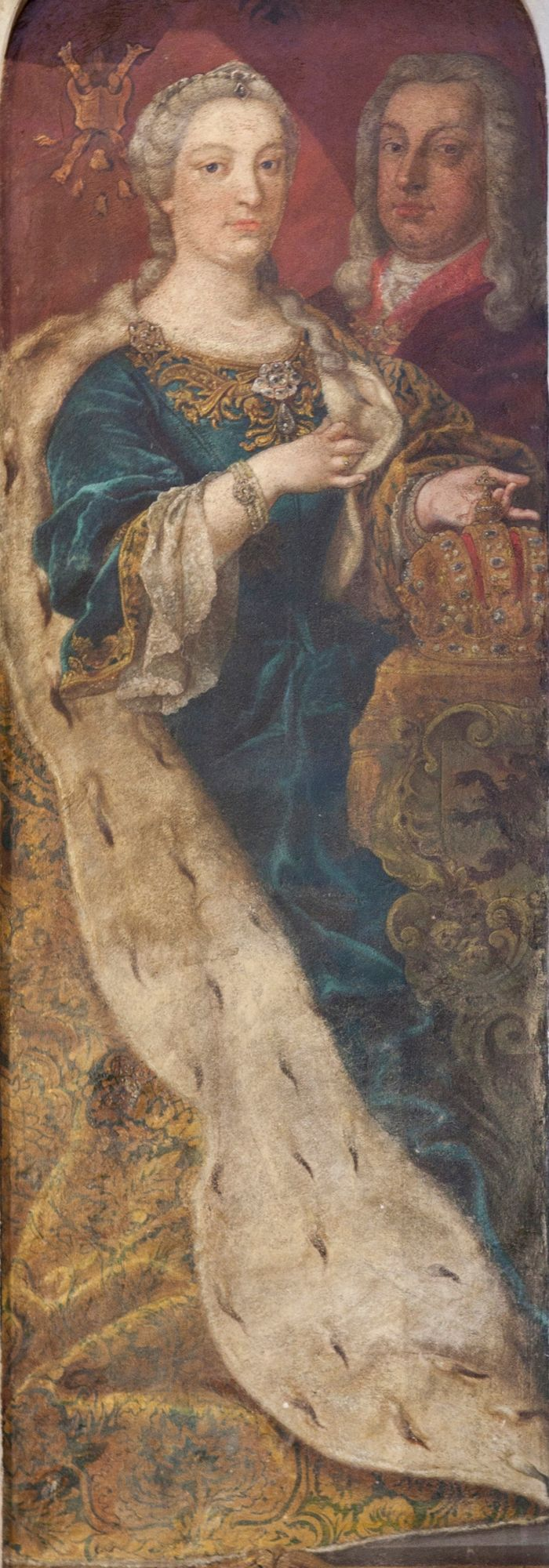 1740 - 1780 Maria Theresia en Frans I