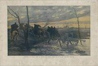 Westflandrica - IJzervlakte, zonsondergang