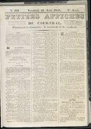 Petites Affiches De Courtrai 1840-08-21