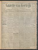 Gazette Van Kortrijk 1909-08-01