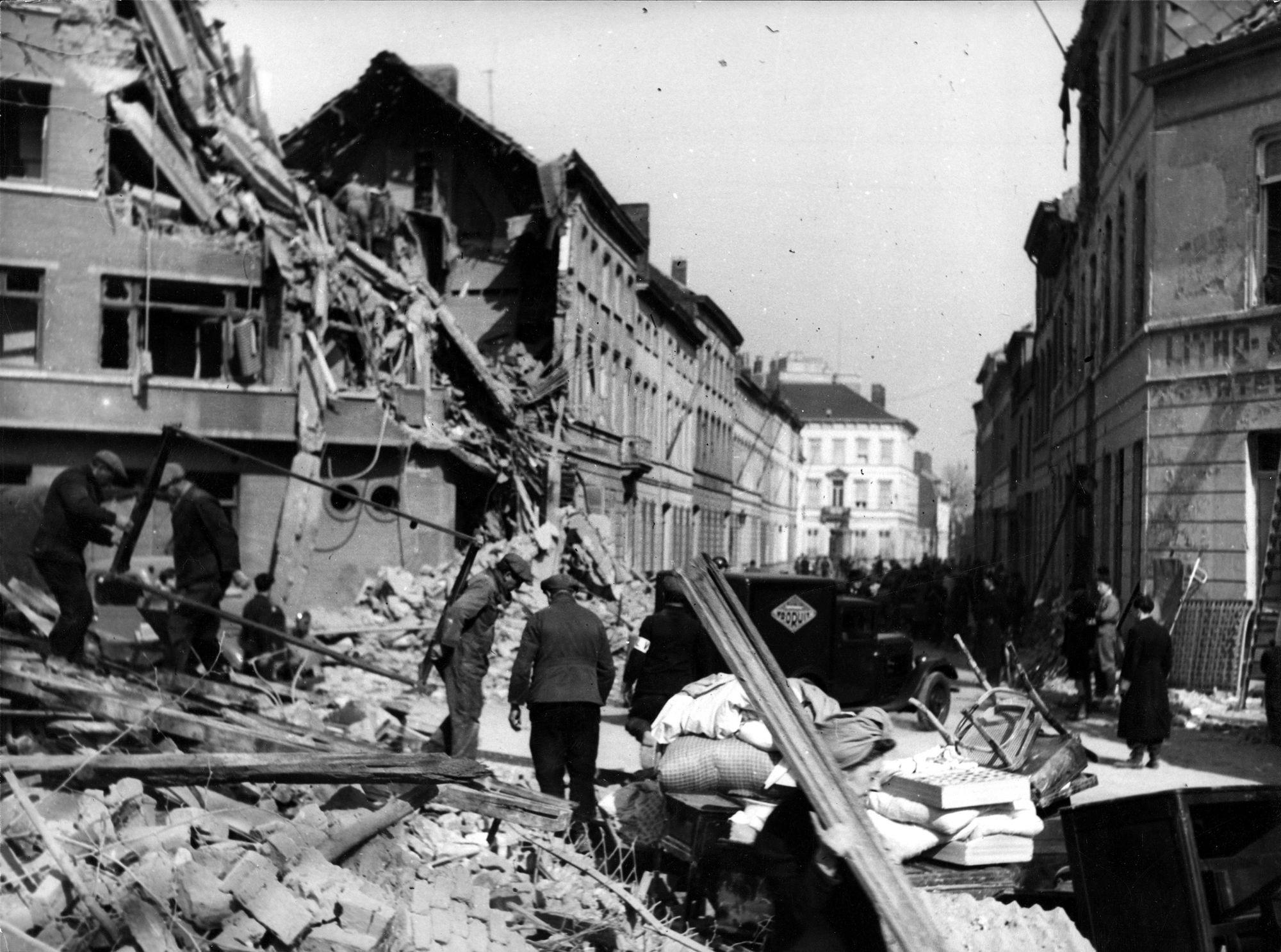 Roeland Saverystraat 21 juli 1944