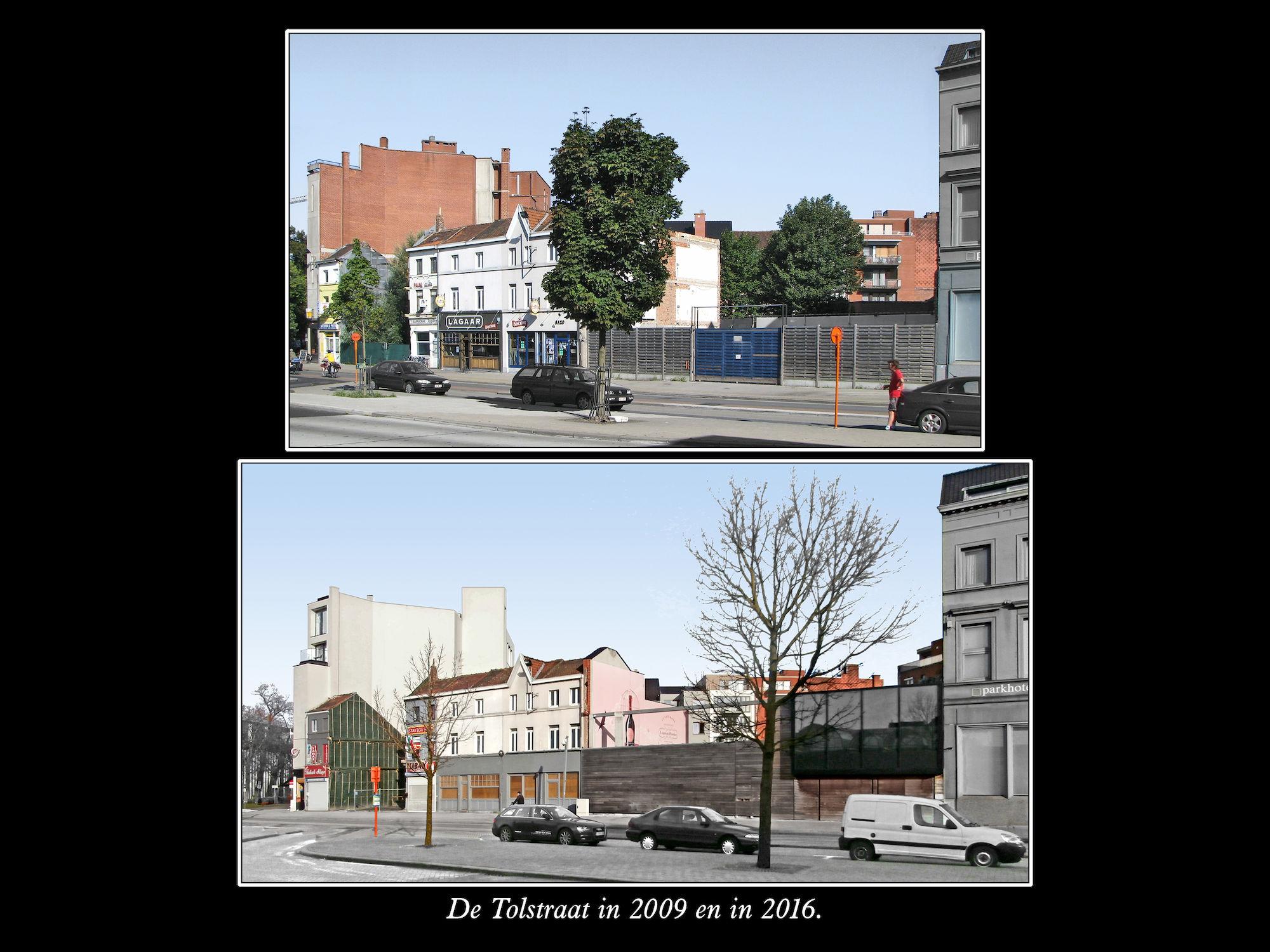 Tolstraat 2009 en 2016