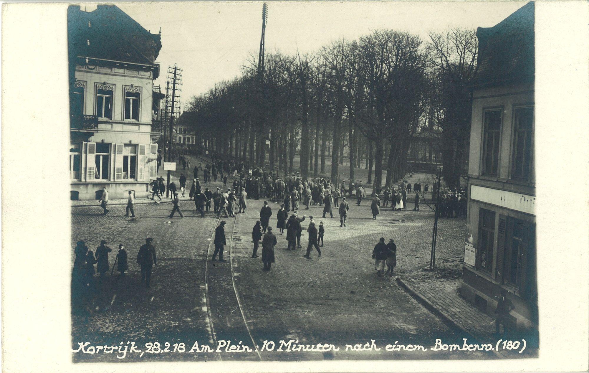 Plein in 1918