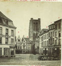 Schadebeelden na brand 1862