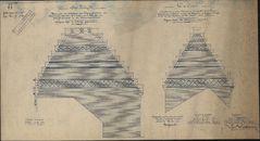 Bouwplannen van een nieuw postgebouw aan de Grote Markt te Kortrijk, 1901-1902