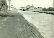 Kanaal Bossuit-Kortrijk in Zwevegem 1950