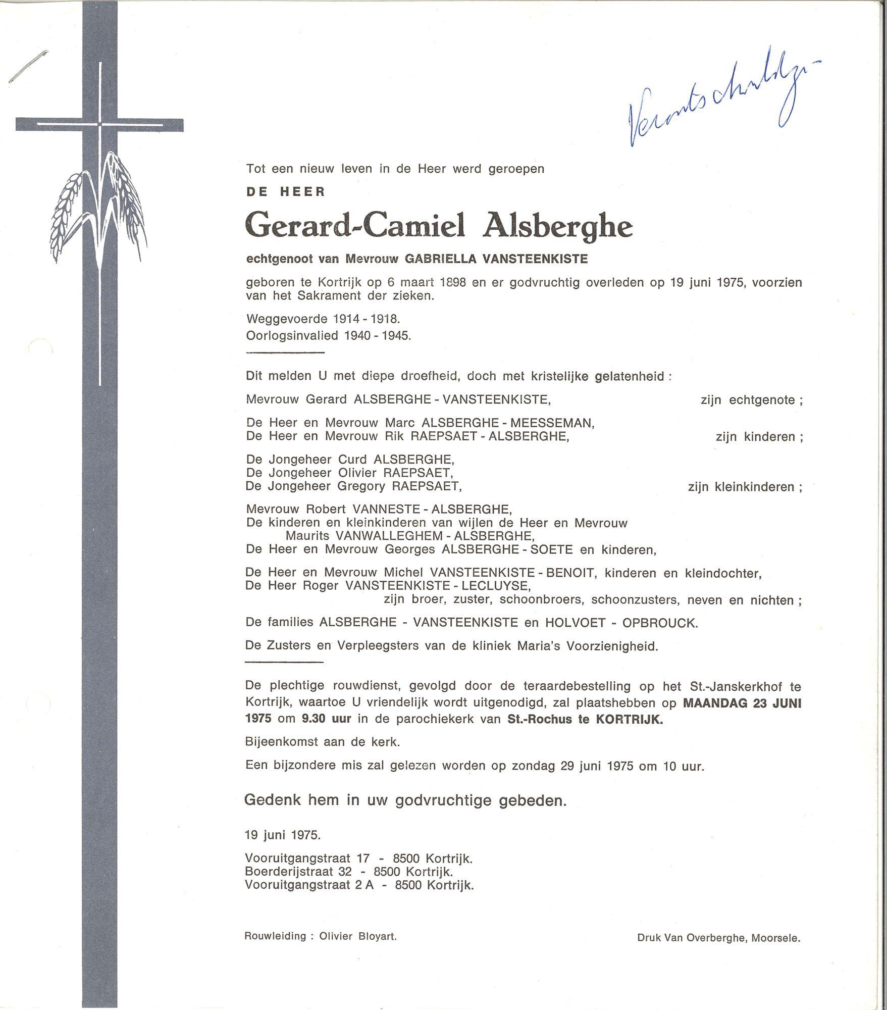 Gerard-Camiel Alsberghe