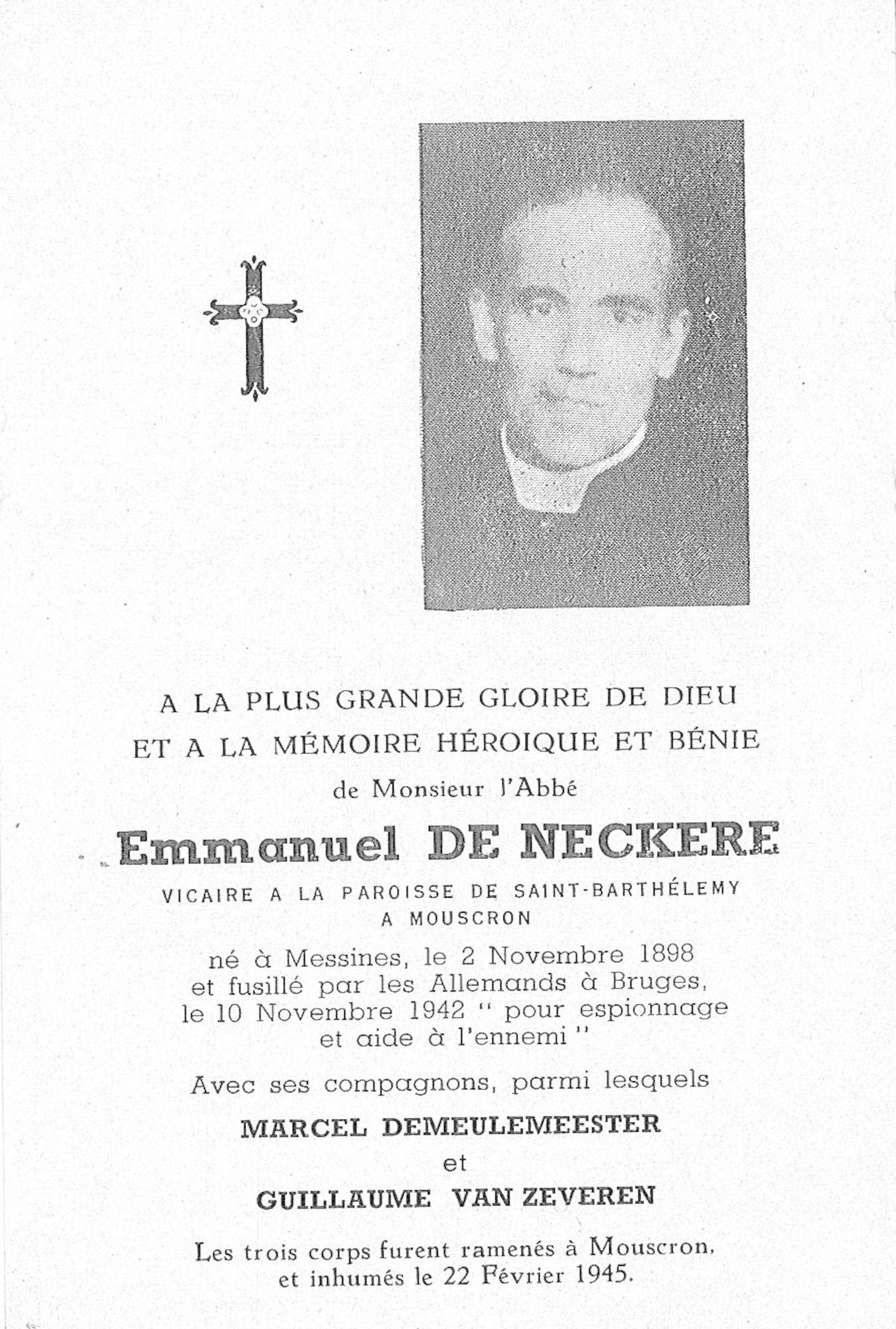 Emmanuel De Neckere