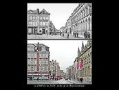 Zicht op de Rijselsestraat ca1900 en 2014