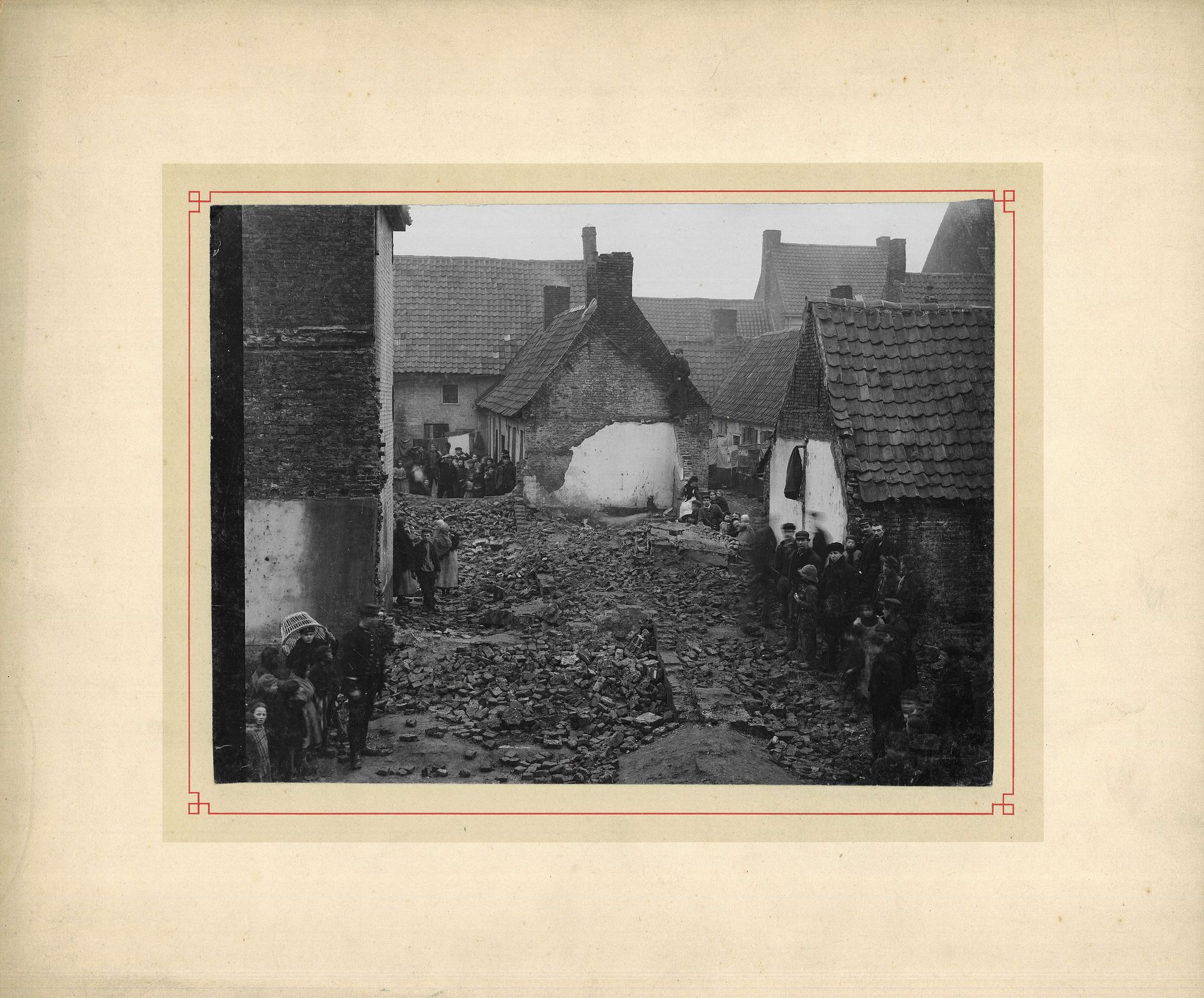 Koekstraat in 1897
