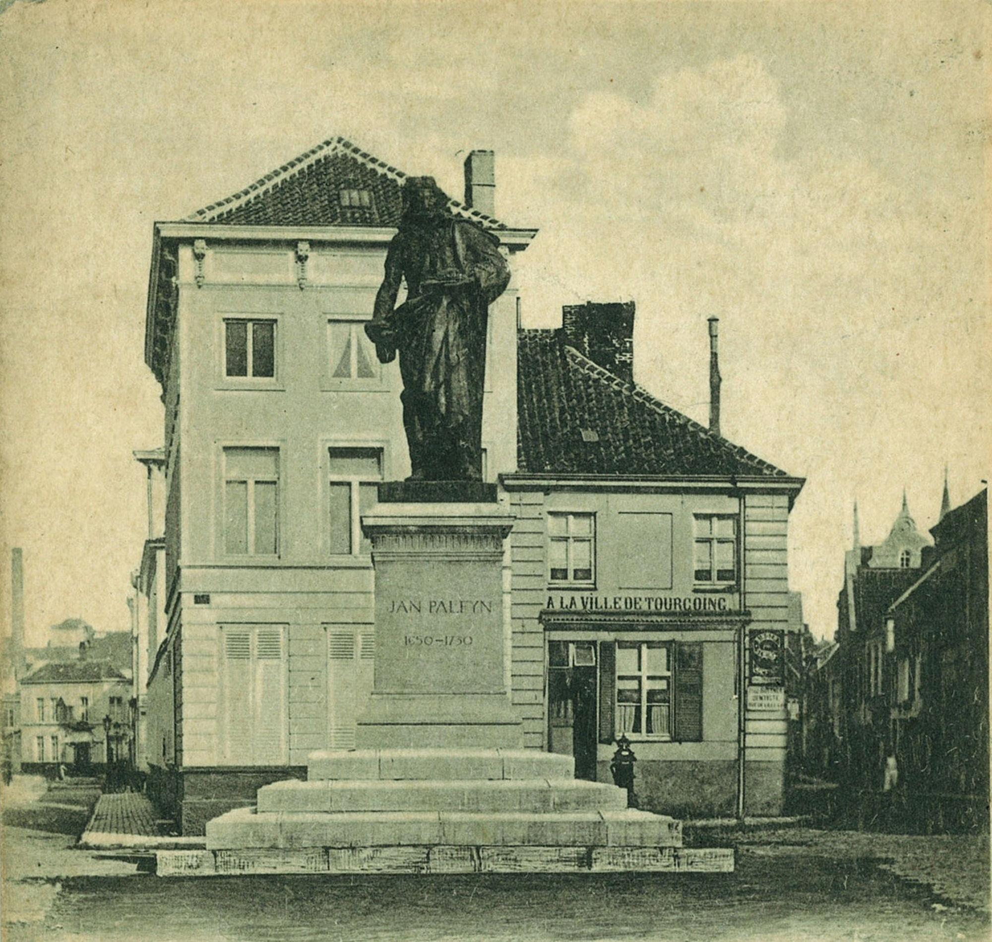 Het monument Jan Palfijn