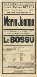 Paasfoor 1910: Grand théatre Delaux