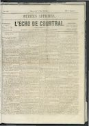 L'echo De Courtrai 1856-05-07